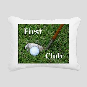 First Club Rectangular Canvas Pillow