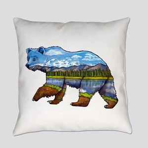 Denali Bear Everyday Pillow