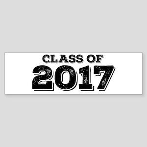 Class of 2017 Sticker (Bumper)