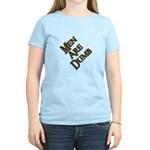 Men Are Dumb Women's Light T-Shirt