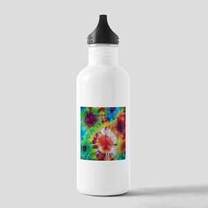 Tie Dye Pattern Water Bottle