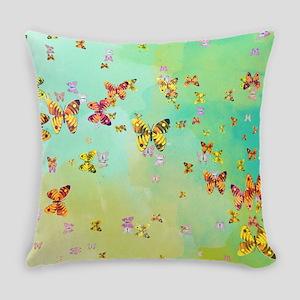 Butterflies on springtime Everyday Pillow