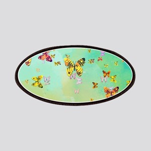 Butterflies on springtime Patch