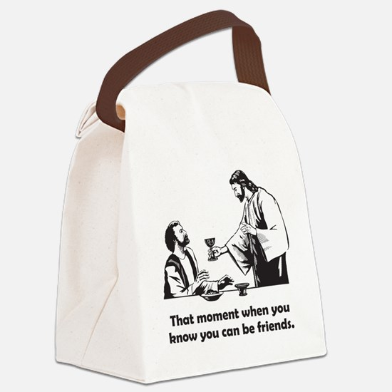 Jesus wine t-shirt Canvas Lunch Bag