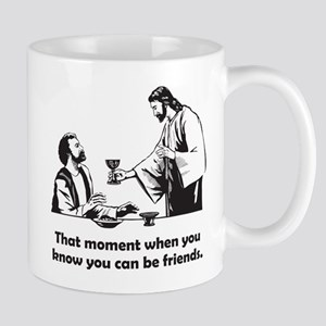 Jesus wine t-shirt Mugs