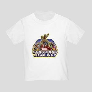 GOTG Team Retro Distressed Toddler T-Shirt