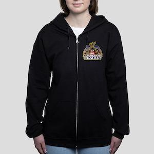 GOTG Team Retro Distressed Women's Zip Hoodie