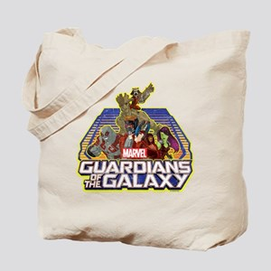 GOTG Team Retro Distressed Tote Bag