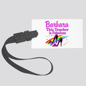 BEST TEACHER Large Luggage Tag