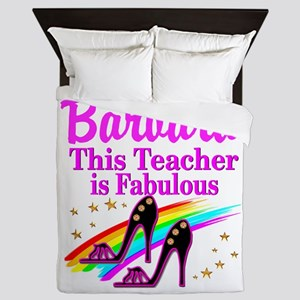 BEST TEACHER Queen Duvet