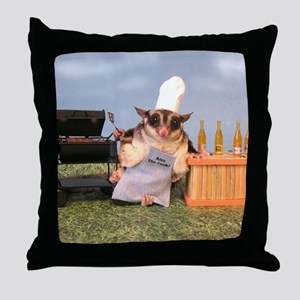 Cookout Throw Pillow