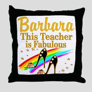 BEST TEACHER Throw Pillow