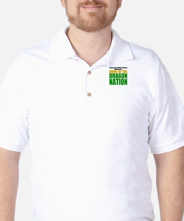 Dragon Nation Big Golf Shirt