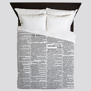 News Queen Duvet