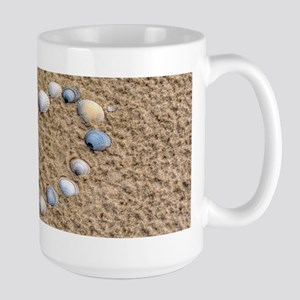 Seashell heart Mugs