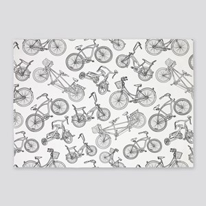 Bicycle Mania 5'x7'Area Rug