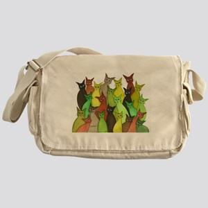 many vermont stray cats Messenger Bag