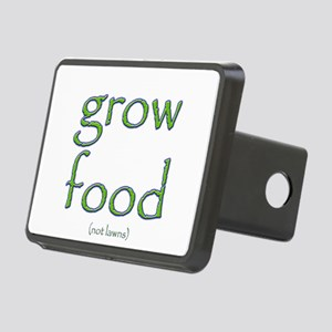 Grow Food Not Lawns Rectangular Hitch Cover