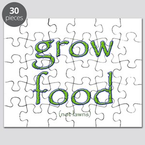 Grow Food Not Lawns Puzzle