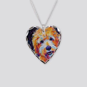 Leo Necklace Heart Charm