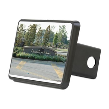Riverfront Park Rectangular Hitch Cover
