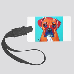 Bella The Boxer Large Luggage Tag