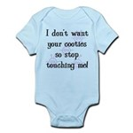 I Don't Want Your Cooties Infant Bodysuit