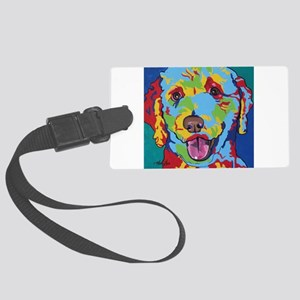 Charlie Brown The Doodle Large Luggage Tag