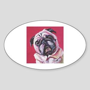 Daisy the Pink Pug Sticker