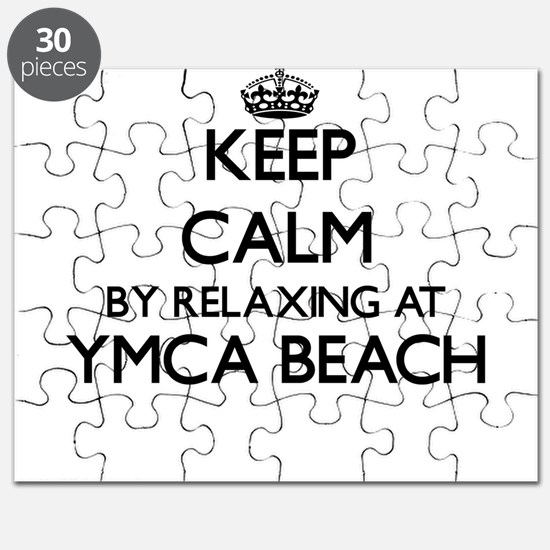 Keep calm by relaxing at Ymca Beach Wiscons Puzzle