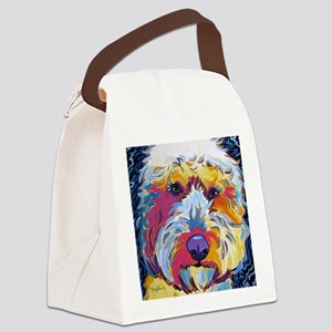 Sunshine The Doodle Canvas Lunch Bag