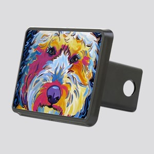 Sunshine The Doodle Rectangular Hitch Cover