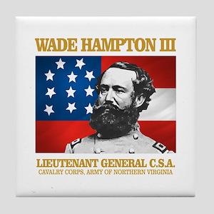 Wade Hampton III Tile Coaster