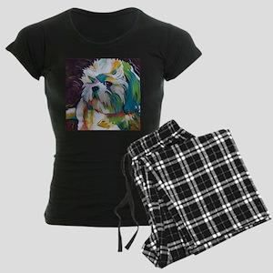 Shih Tzu - Grady Women's Dark Pajamas