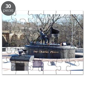 Ray Charles Plaza Puzzle