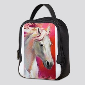 A Horse Named Blue Neoprene Lunch Bag