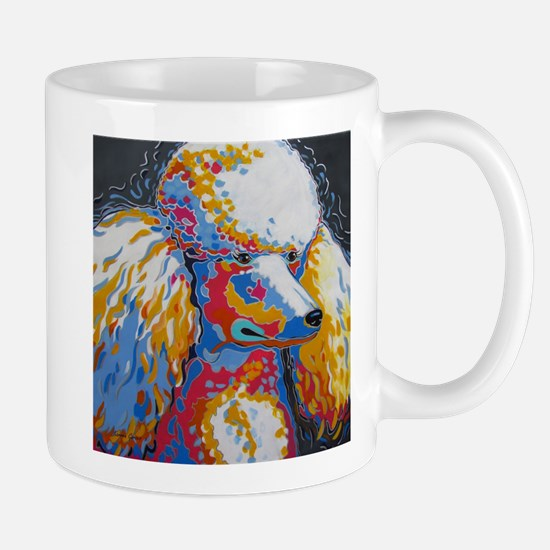 Daisy the Standard Poodle Mugs