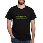 """Ostsg: """"Happy Thoughts"""" Dark T-Shirt"""