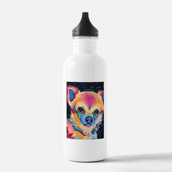 Neon Pomeranian or Chi Water Bottle