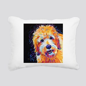 Leo Rectangular Canvas Pillow