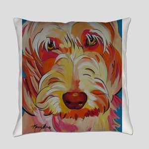 Harvey the Doodle Everyday Pillow