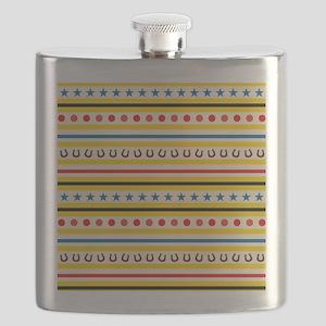 Cowboy Theme Gifts Flask