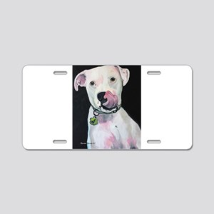 Tongue and Cheek Aluminum License Plate