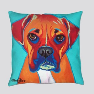 Bella The Boxer Everyday Pillow