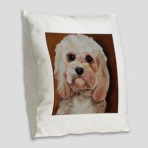 Emme Burlap Throw Pillow