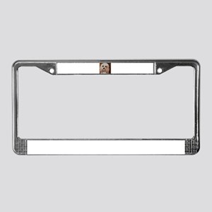 Emme License Plate Frame