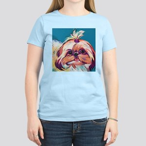 Pebbles the Shih Tzu Dog Art T-Shirt