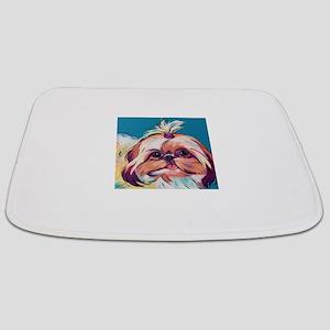 Pebbles the Shih Tzu Dog Art Bathmat