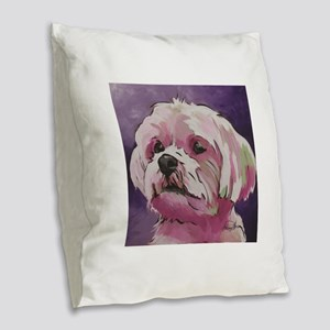 Sohpie Burlap Throw Pillow