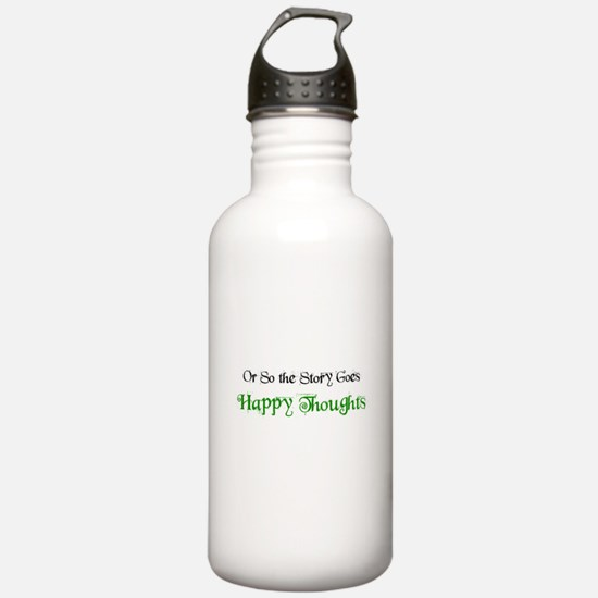 """Ostsg: """"Happy Thoughts""""Water Bottle"""